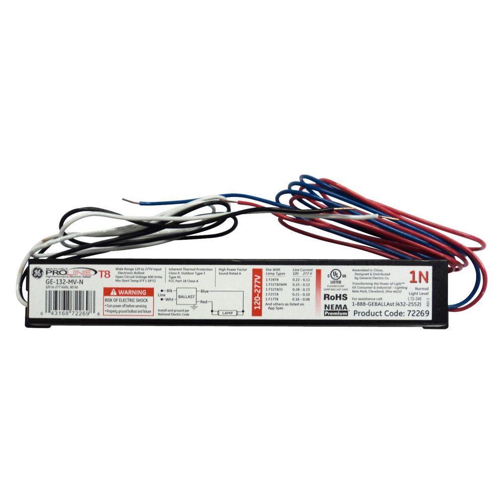 Ge T12 Ballast Wiring Diagram
