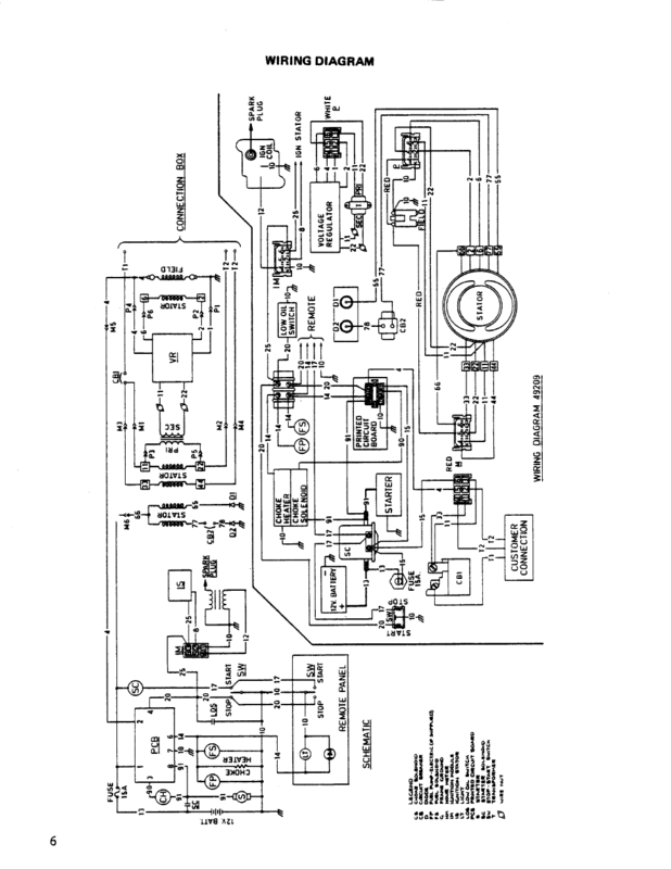 Generac 18kw Generator Voltage Regulator Wiring Diagram