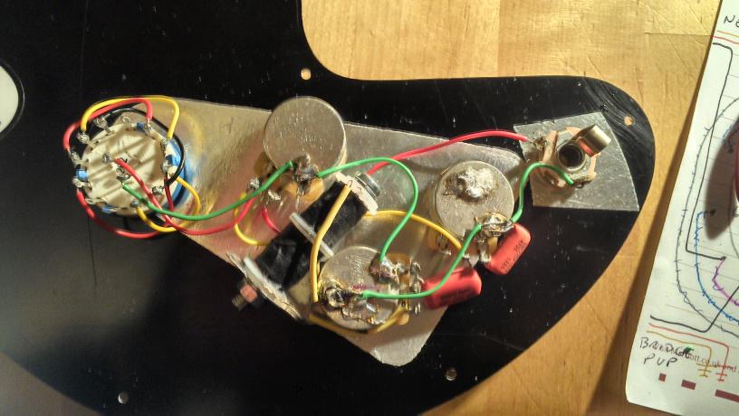 Gibson Ripper Bass Wiring Diagram