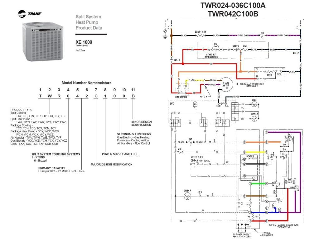 Goodman 1  6 Hp Ac Unit Outsidw Wiring Diagram