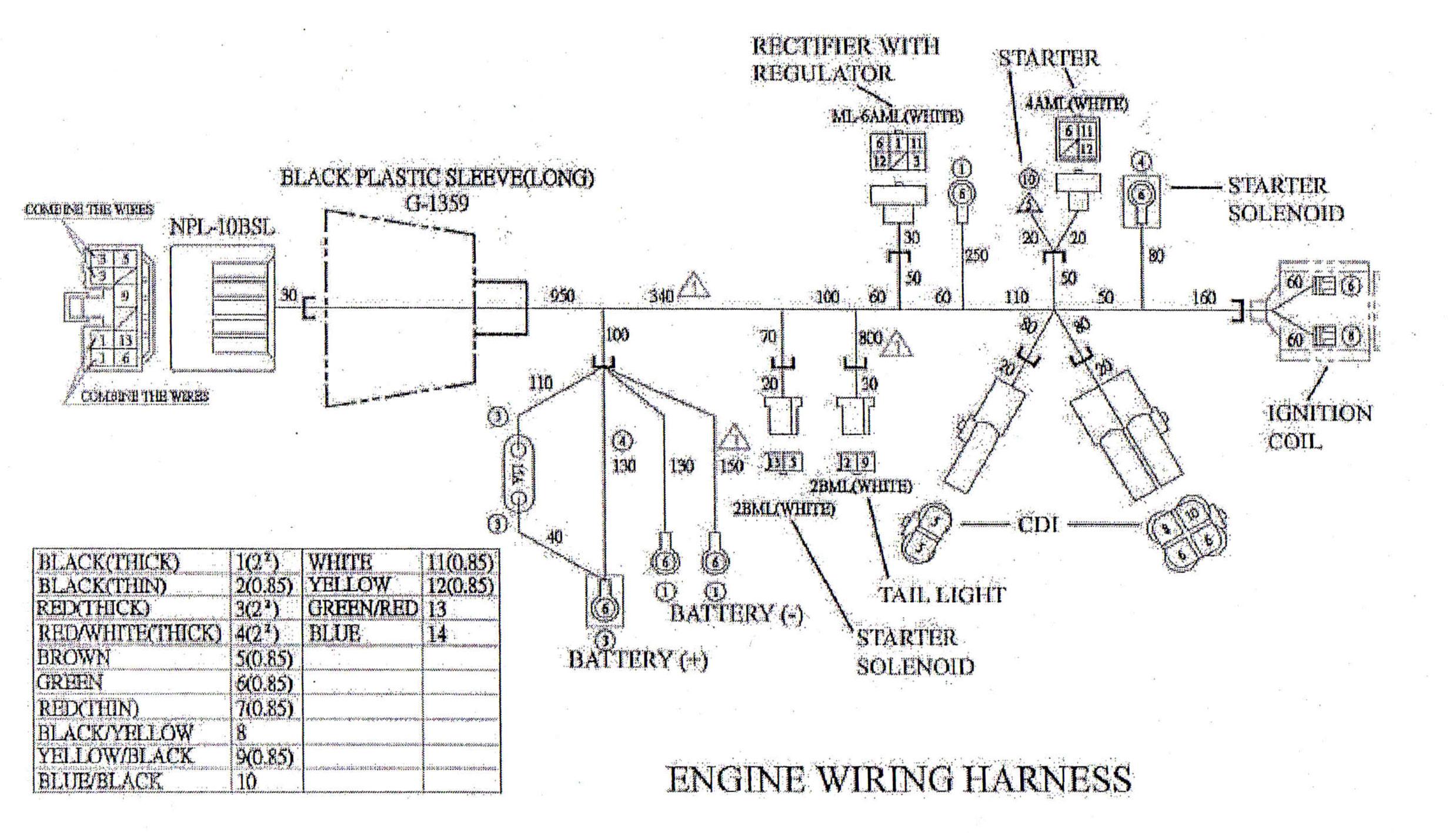 Hammerhead Go Kart Wiring Diagram