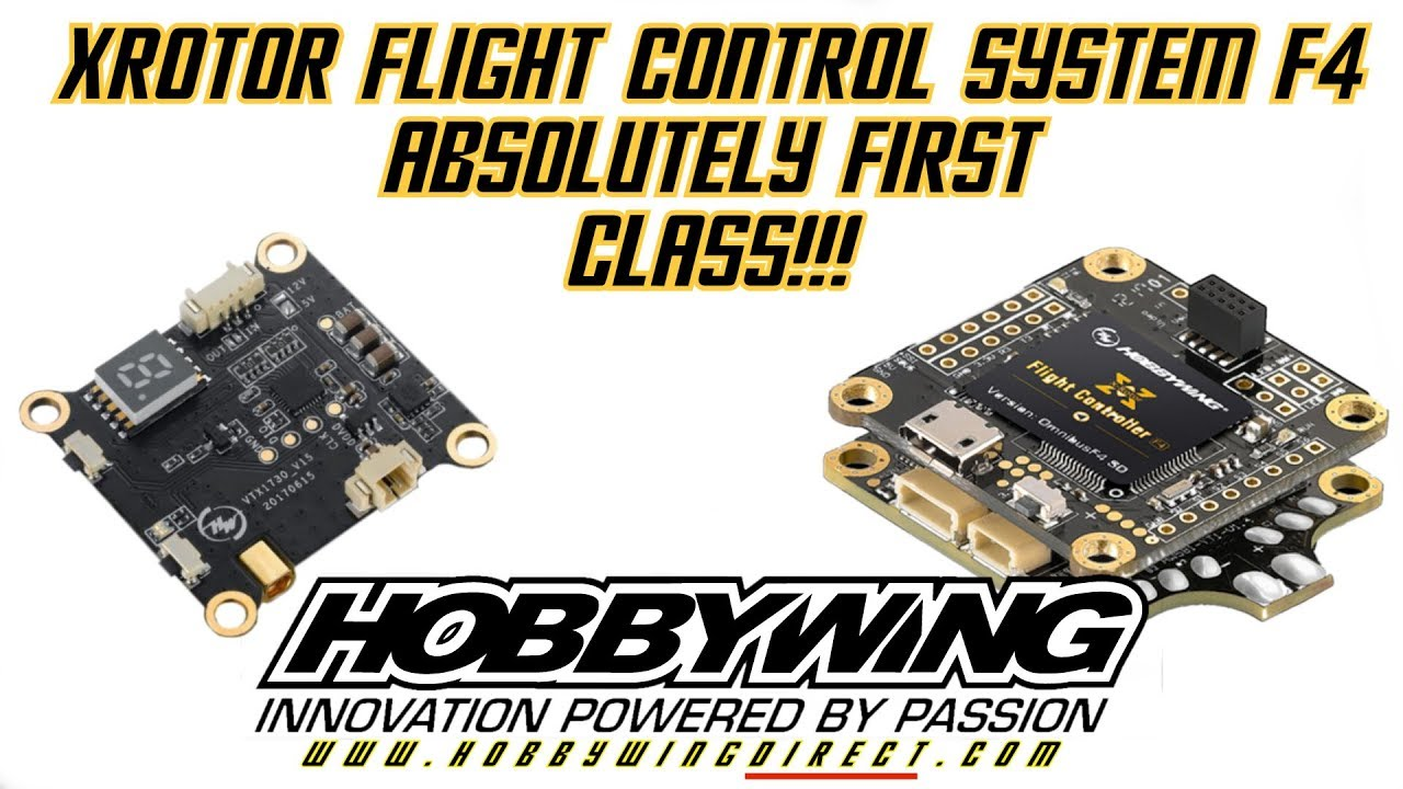 firmware version for hobby wing x rotor g2