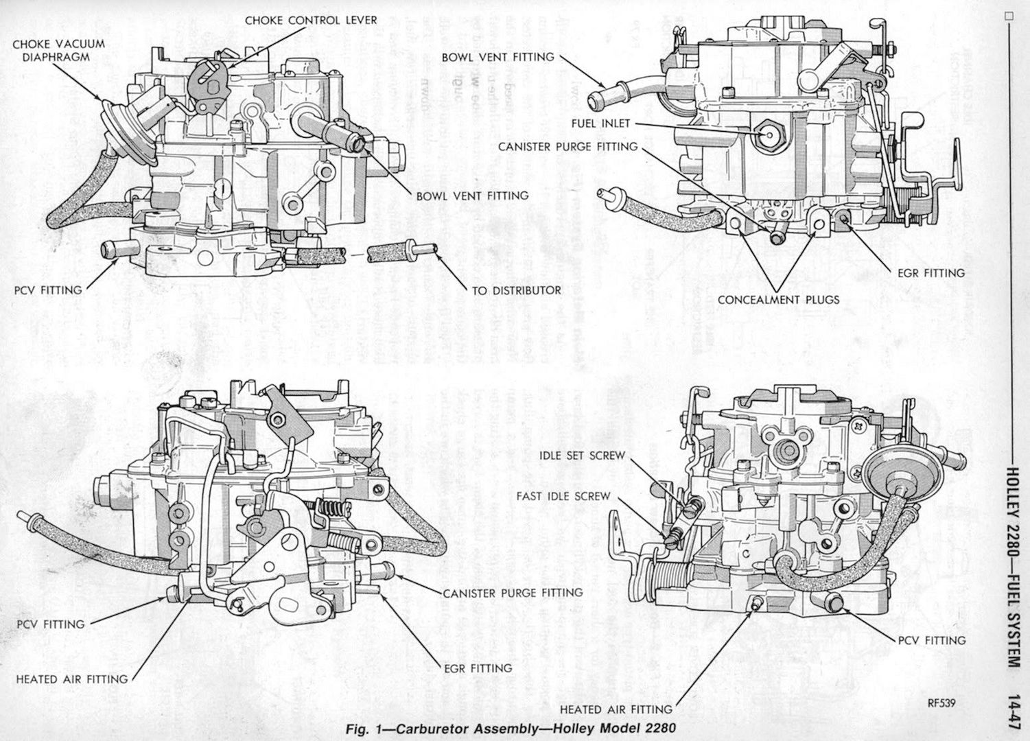 Holley 2280 Diagram