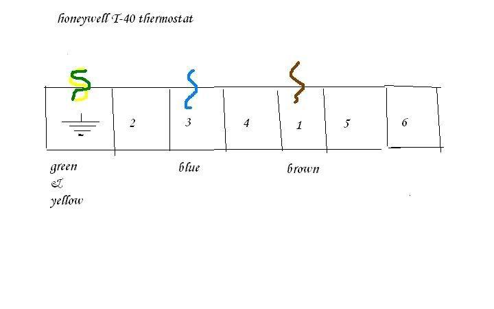 Honeywell Thermostat T6360b Wiring Diagram