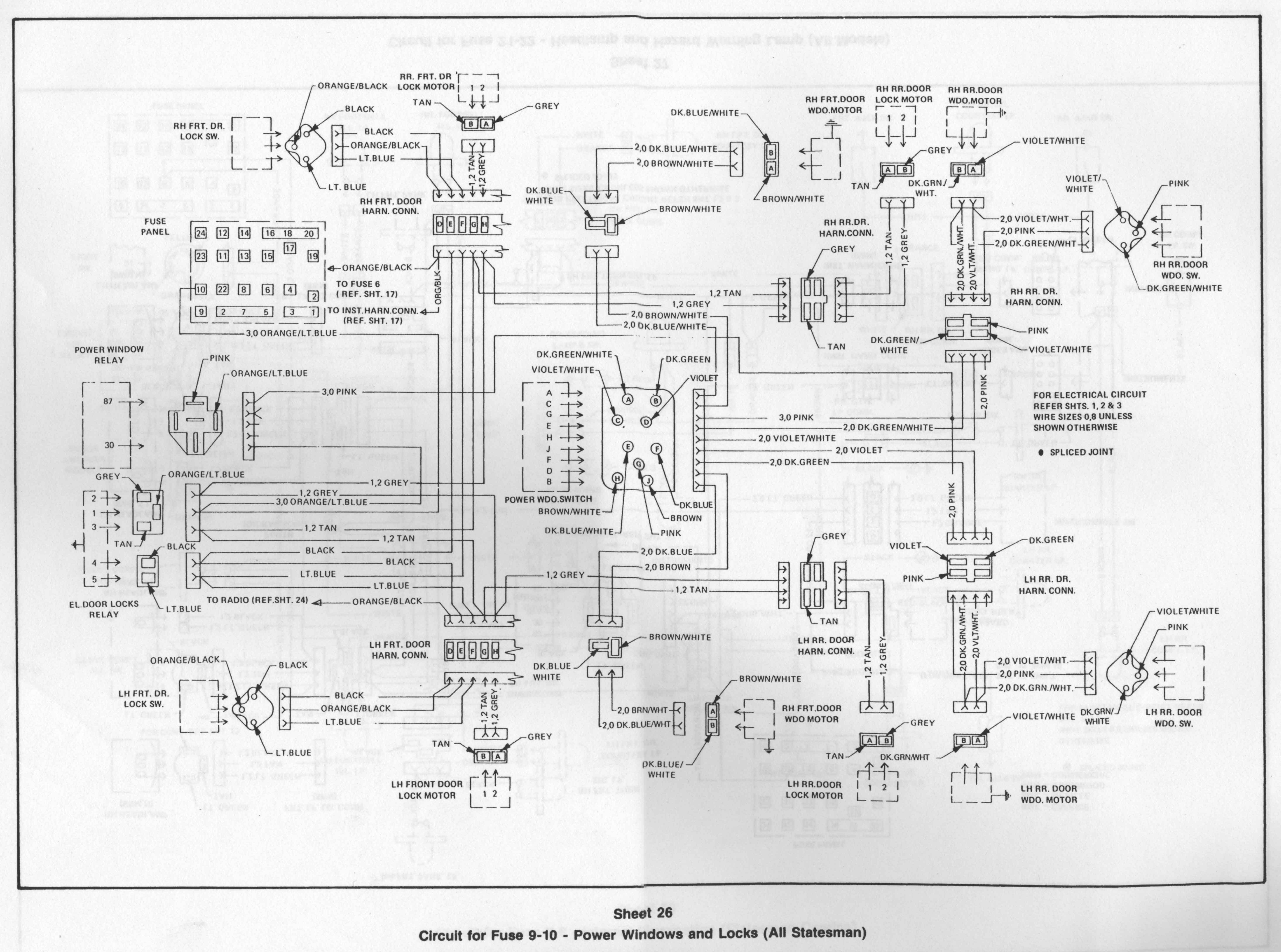 Hq Holden Wiring Diagram