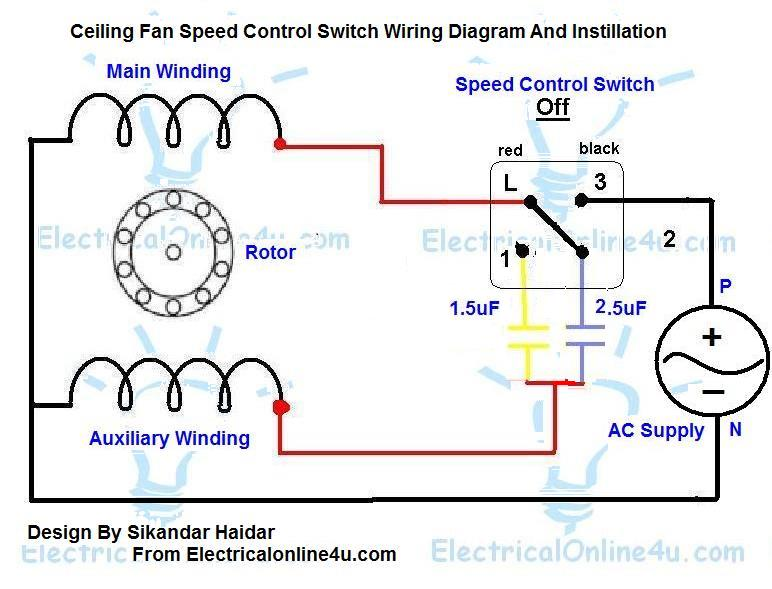 Diagram Diagram Hunter Ceiling Fan Capacitor Wiring Diagram