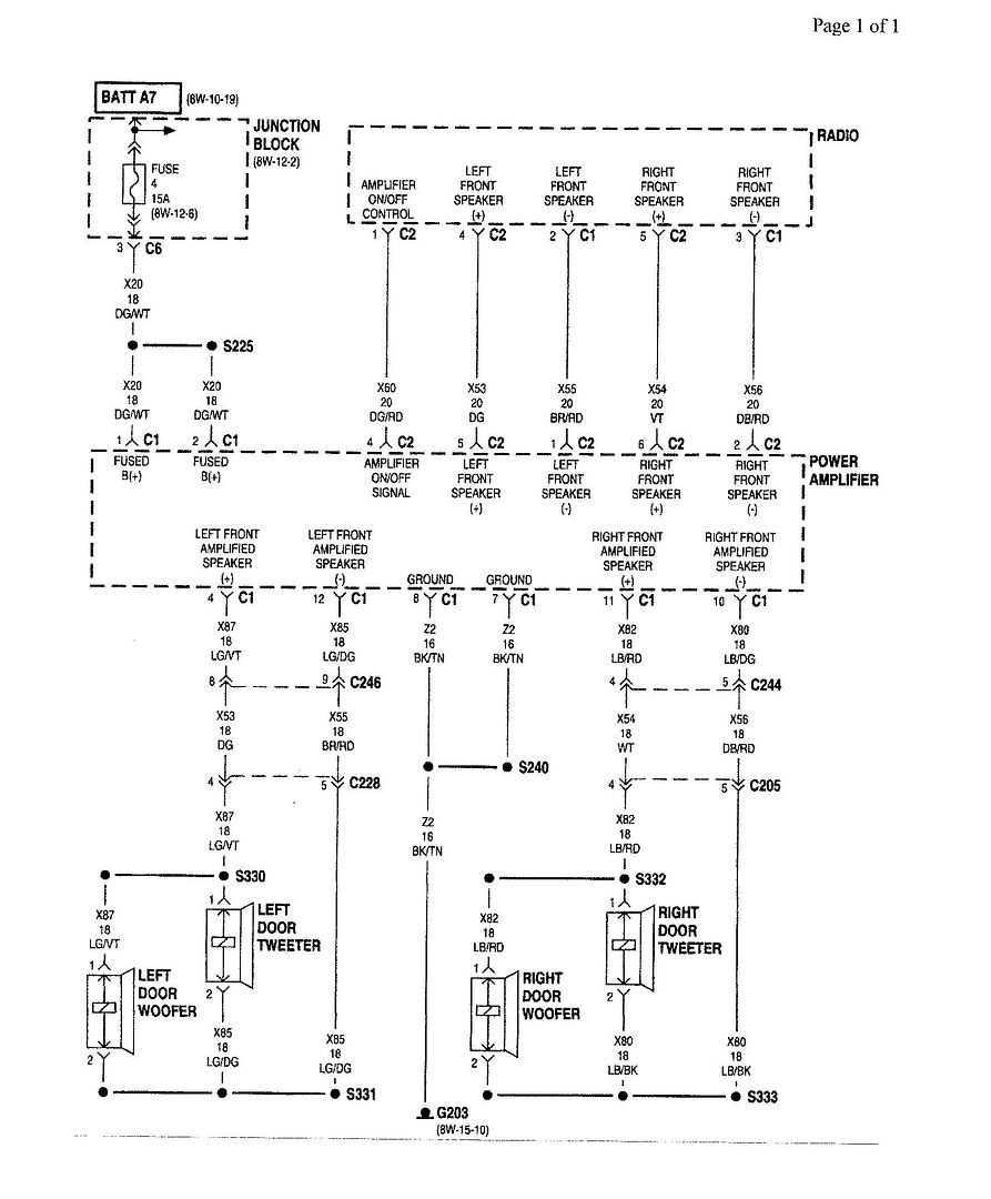 Infinity 36670 Amp Wiring Diagram Bypass