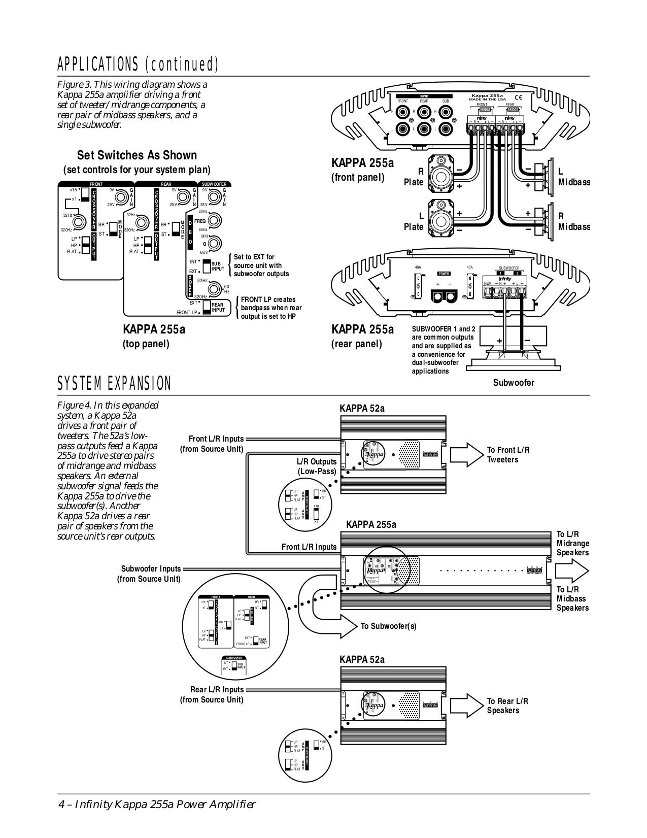 Infinity Kappa 60csx Wiring Diagram