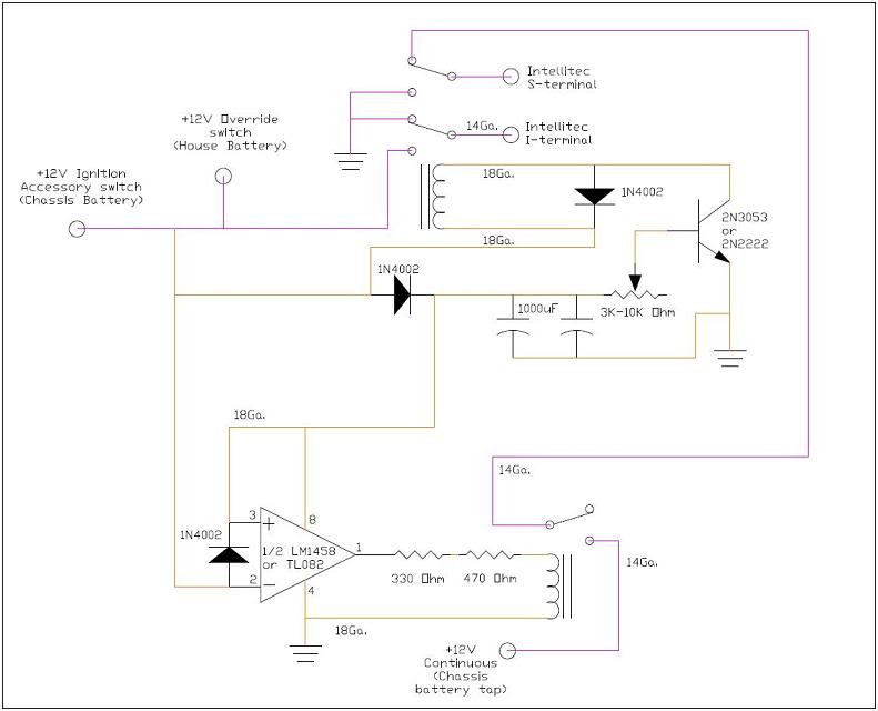 Intellitec Battery Disconnect Relay Wiring Diagram