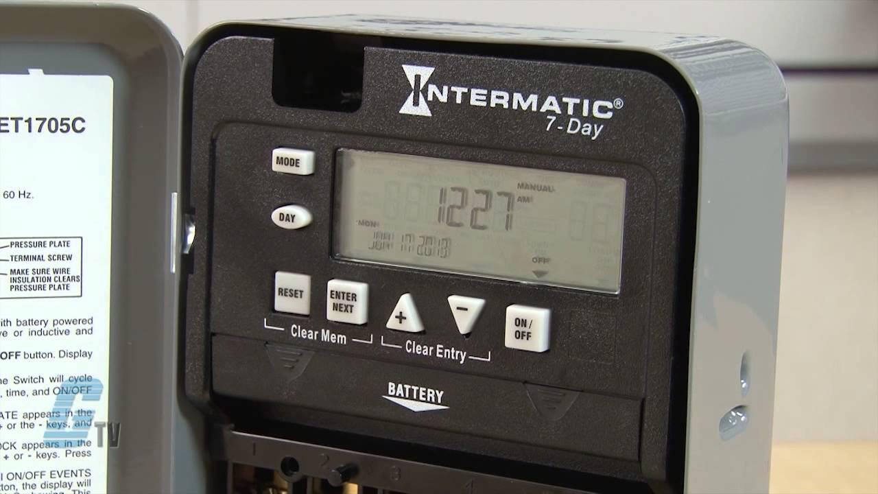 Intermatic 158t6785 Wiring Diagram