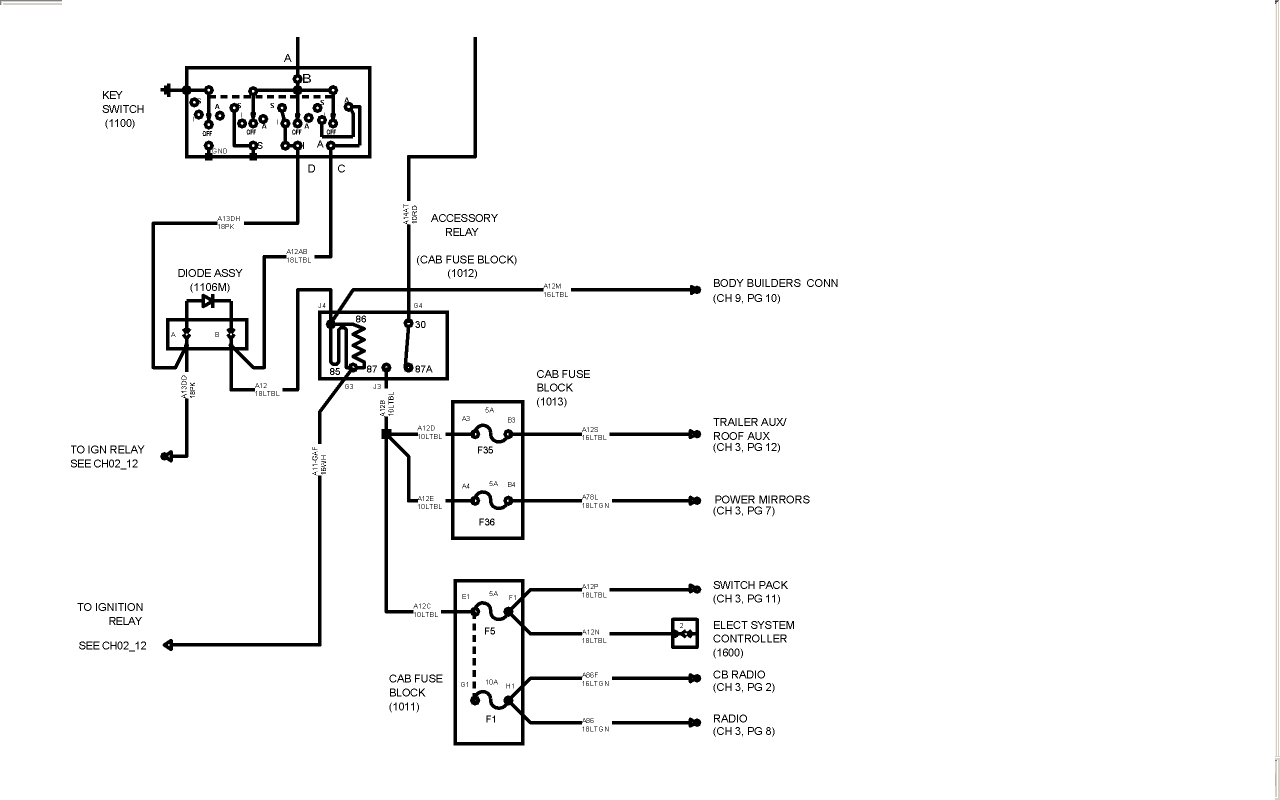 International 9670 Wiring Diagram