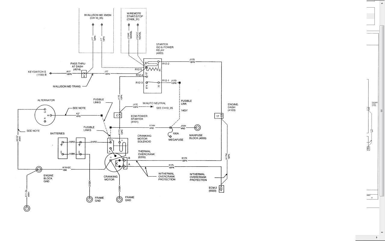International D466 Wiring Diagram