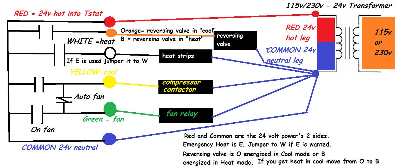 Intertherm Heat Pump  Relay Switch Wiring Diagram