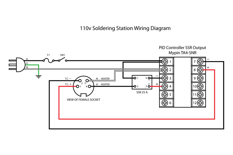 Ironton 110 Ac Winch Motor Wiring Diagram on