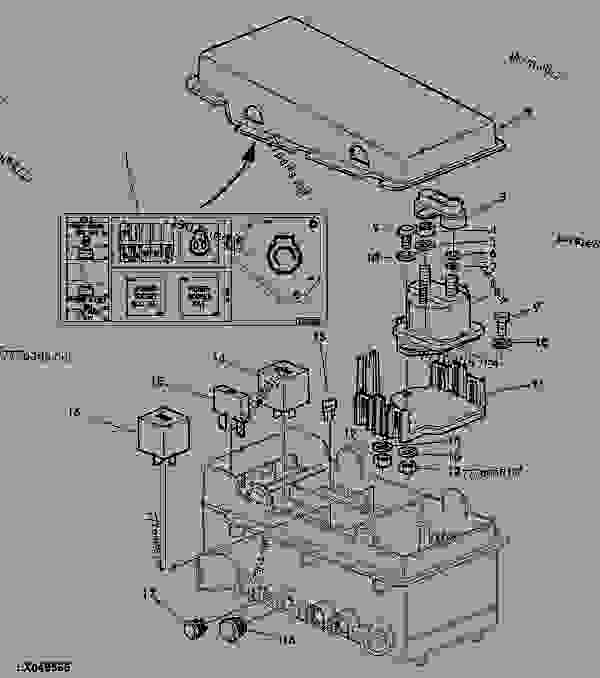 john deere 5083e a  c blower wiring diagram