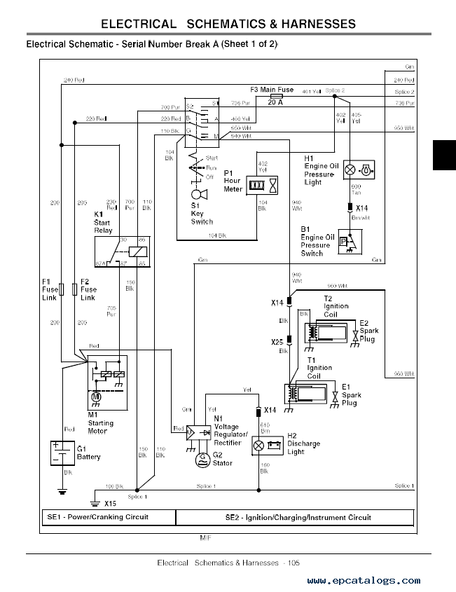 John Deere 797 Ztrak Wiring Diagram