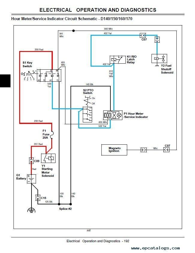 1965 John Deere 110 Wiring Diagram from wiringall.com