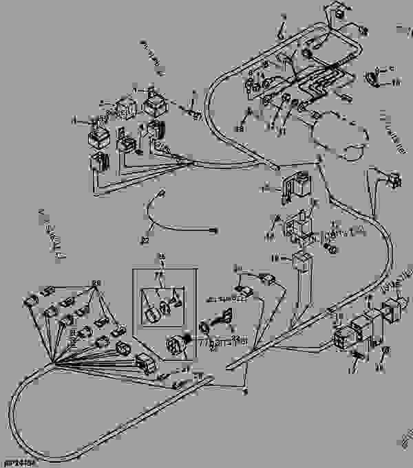 john deere gator 6x4 wiring diagram. Black Bedroom Furniture Sets. Home Design Ideas