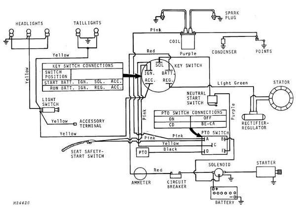 [XOTG_4463]  Wiring Diagram For John Deere Lt155 -Leviton Light Switch Wiring Diagram |  Begeboy Wiring Diagram Source | John Deere Lt155 Wiring Harness |  | Begeboy Wiring Diagram Source