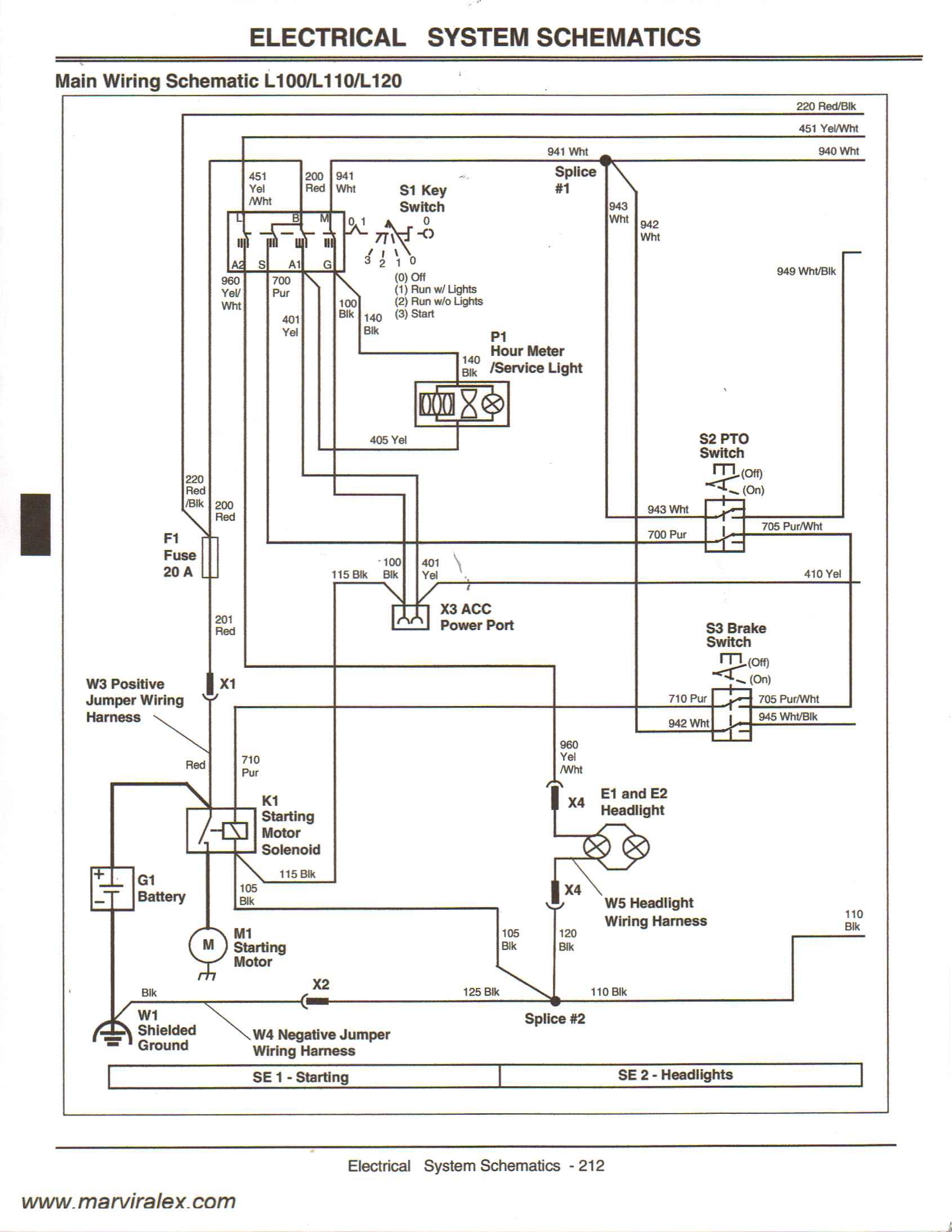 John Deere Lx255 Pto Wiring Diagram