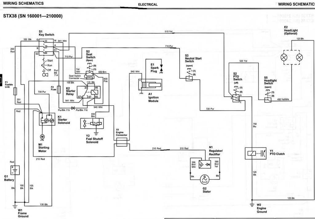 John Deere X300 Wiring Diagram