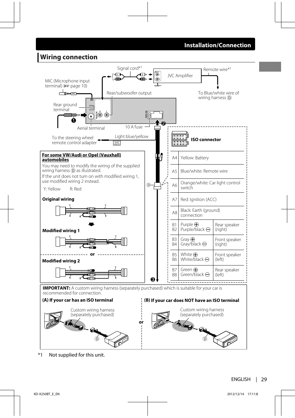 🏆 [DIAGRAM in Pictures Database] Stereo Diagram Car Wiring Jvc Kdsx Just  Download or Read Jvc Kdsx - ONLINE.CASALAMM.EDU.MX | Jvc Kd G310 Wiring Diagram |  | Complete Diagram Picture Database