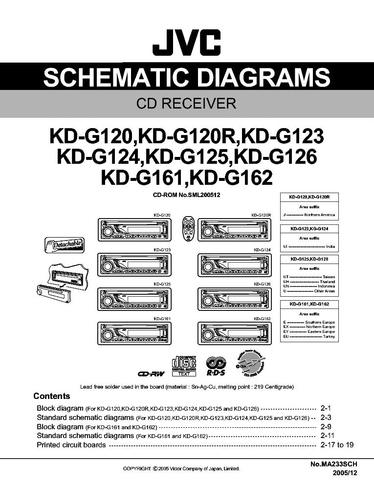 Jvc Kd R640 Wiring Diagram