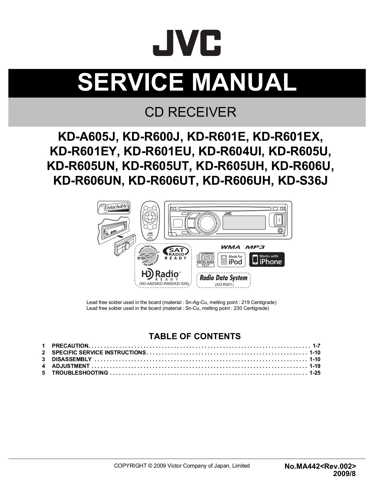 Jvc Kdr320 Wiring Diagram