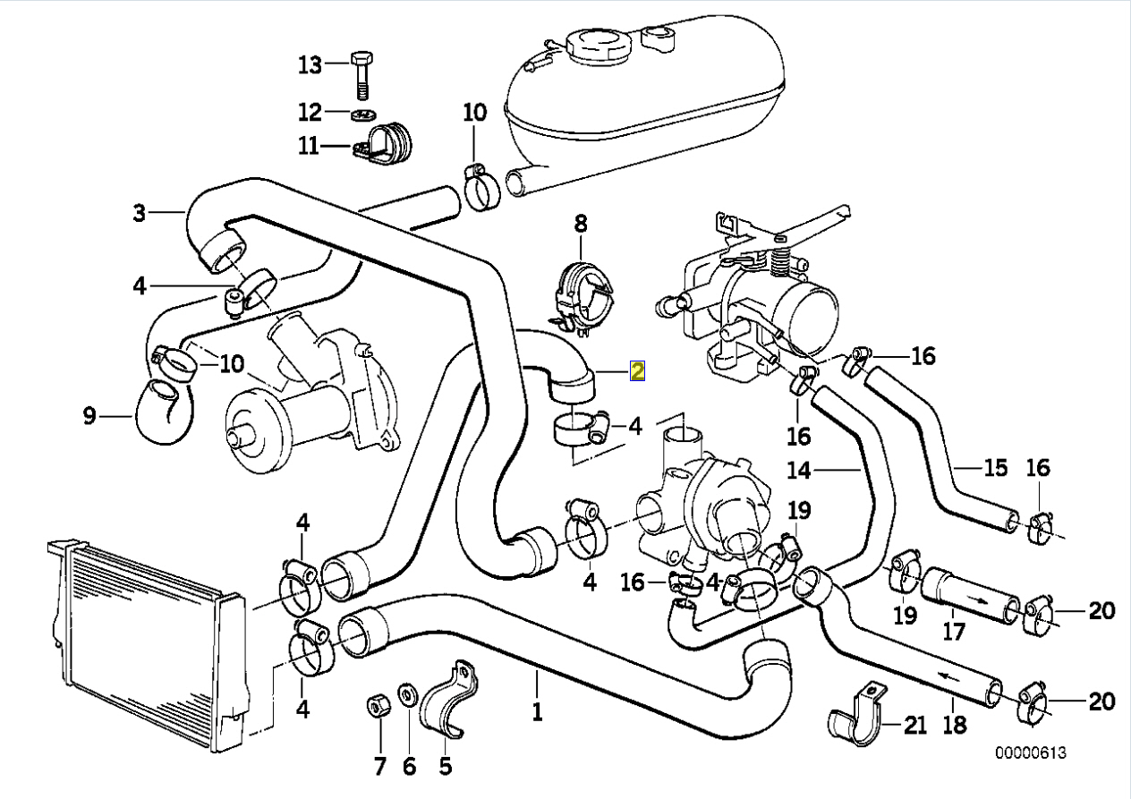 Ka24e Coolant Hose Diagram