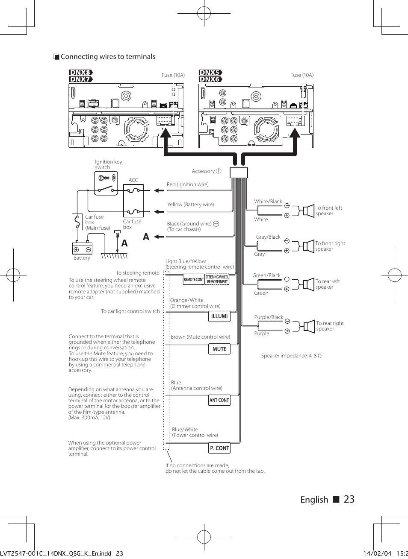 Kenwood 9105d Wiring Diagram