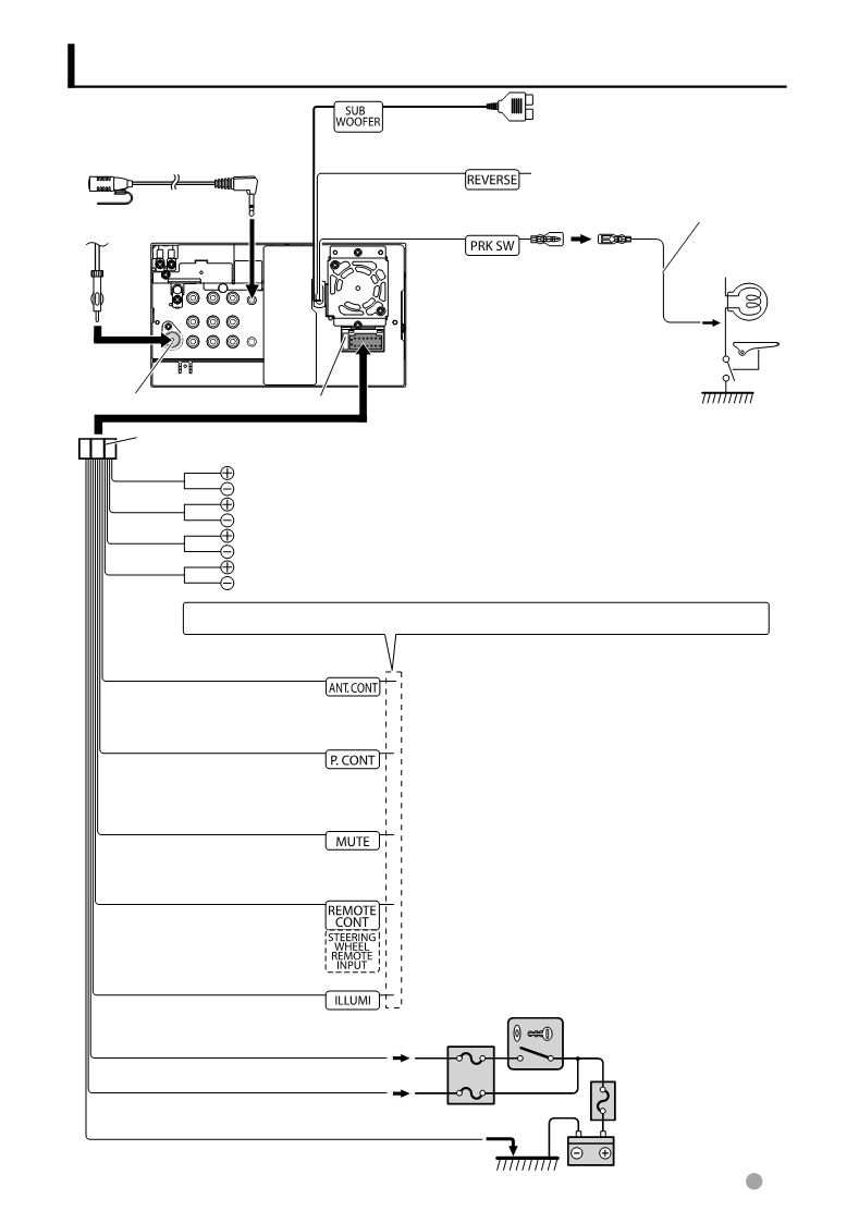 Kenwood Ddx616 Wiring Diagram