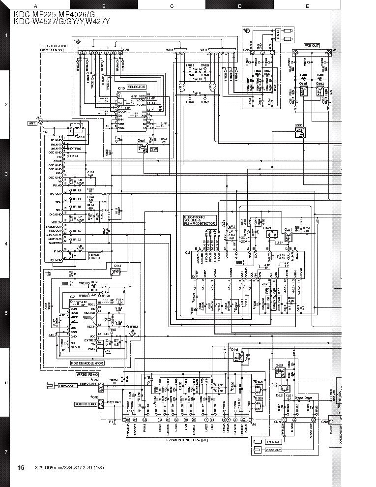 diagram kenwood kdc 138 wiring diagram model full version