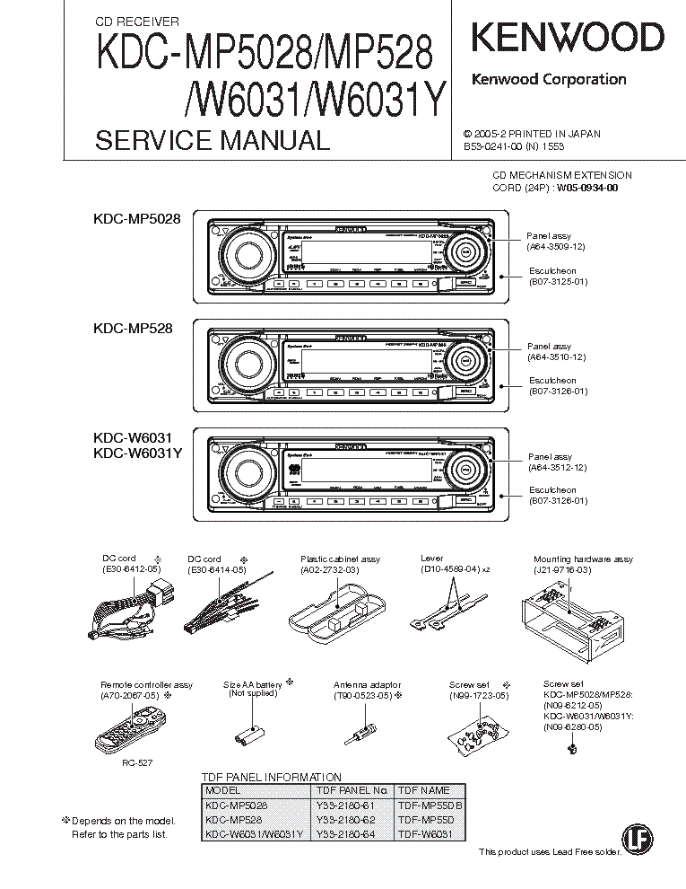 kenwood kdc 200u wiring diagram  jeep wiring diagrams free