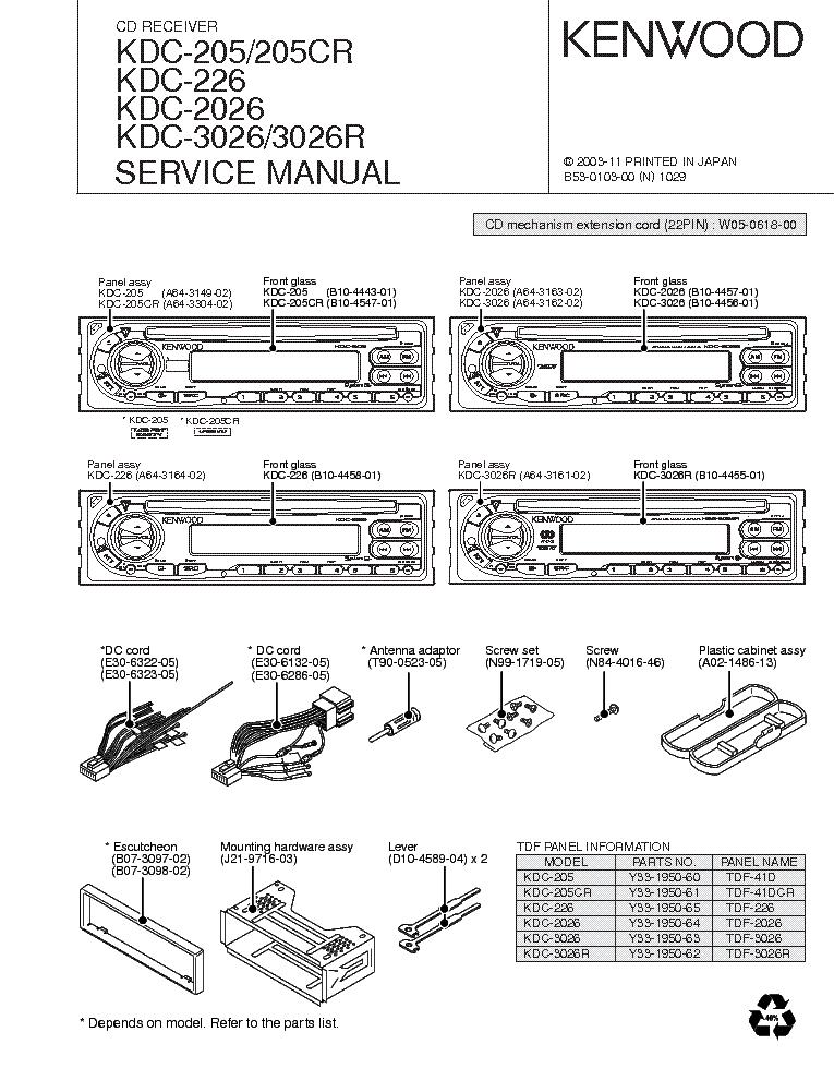 diagram wiring diagram kenwood kdc 2022 full version hd