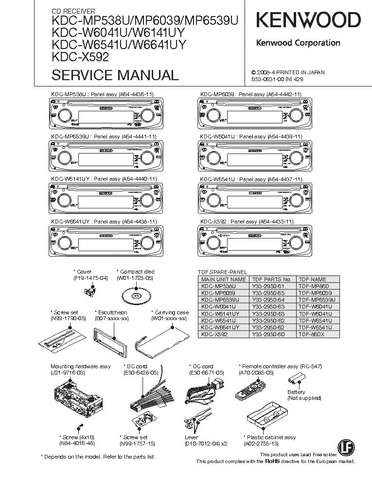 [SCHEMATICS_4CA]  Kenwood Model Kdc 122 Color Wiring Diagram. kenwood kdc mp208 wiring diagram.  kenwood kdc mp538u wiring diagram. kenwood kdc 132 wiring diagram. kenwood  kdc 138 wiring diagram. kenwood kdc 200u wiring diagram. | Kenwood Kdc 122 Wiring Diagram Colors |  | 2002-acura-tl-radio.info
