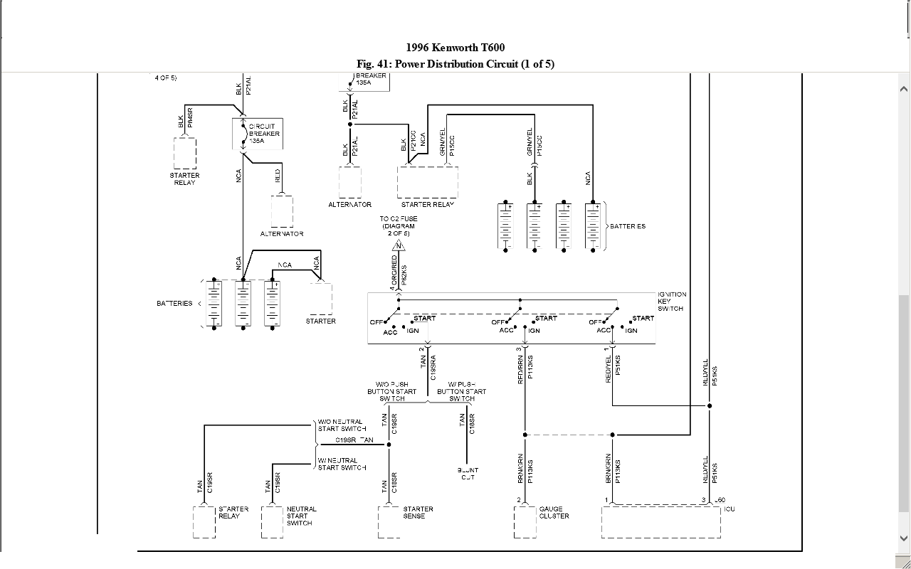 Kenworth W900 Hotline Wiring Diagram