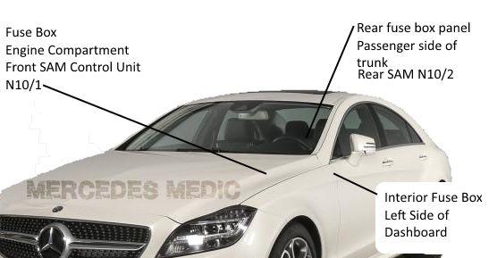Keylessgo W221 Mercedes
