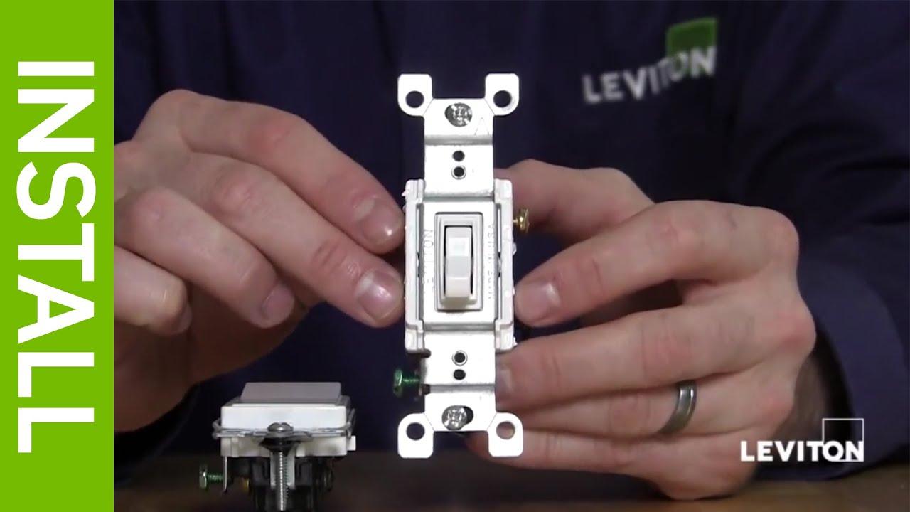 Leviton 3 Way Switch 5603 Wiring Diagram