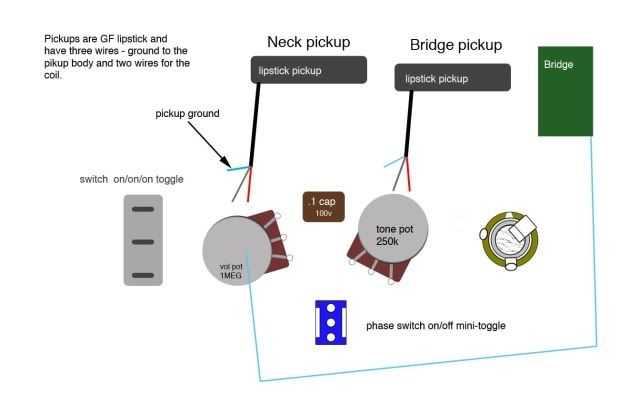 Lipstick Pickup Wiring Diagram