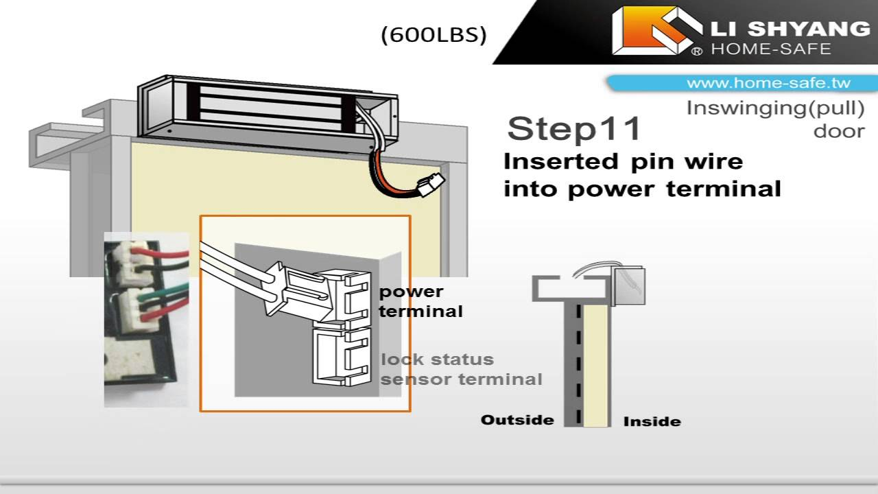 Locknetics Maglock Wiring Diagram
