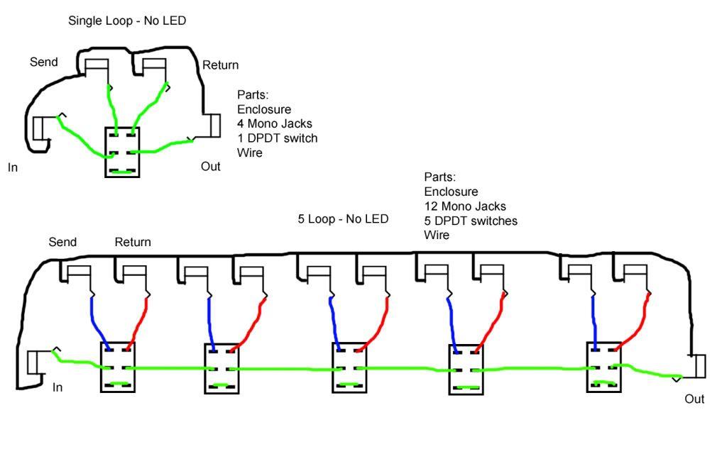 Looper Wiring Diagram