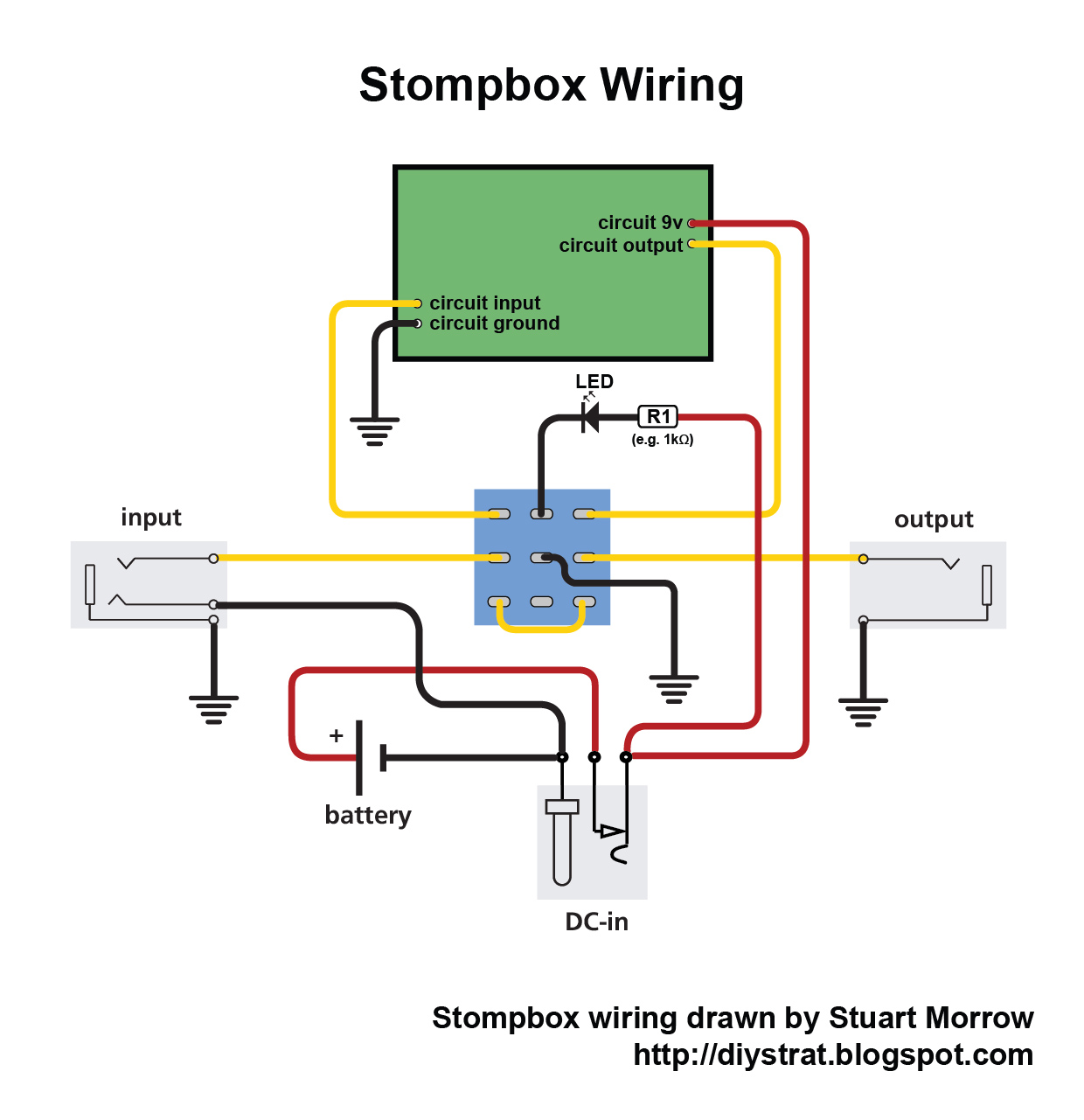 Looper Wiring Diagram With Rotary Switch