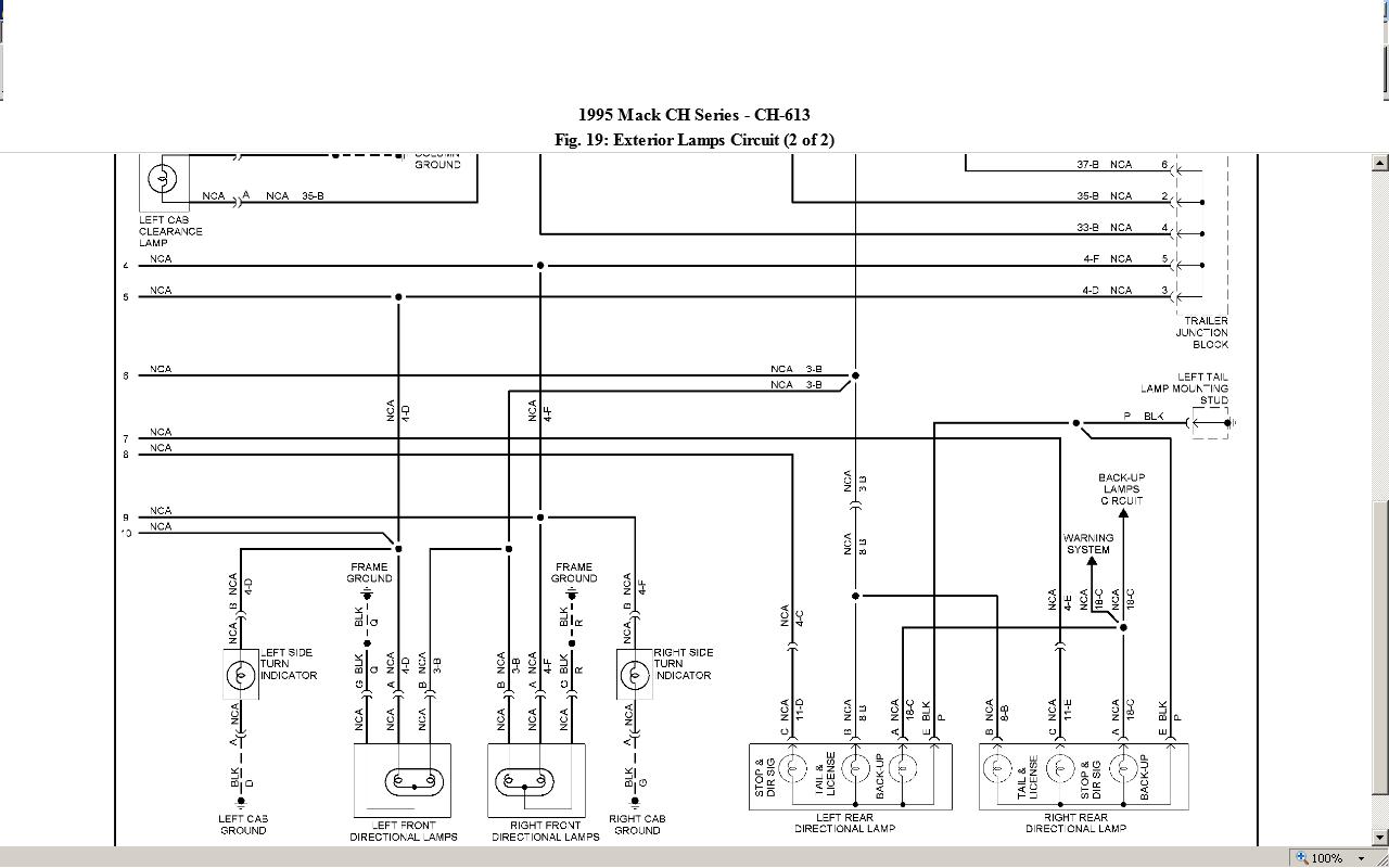 Mack B61 Wiring Diagram