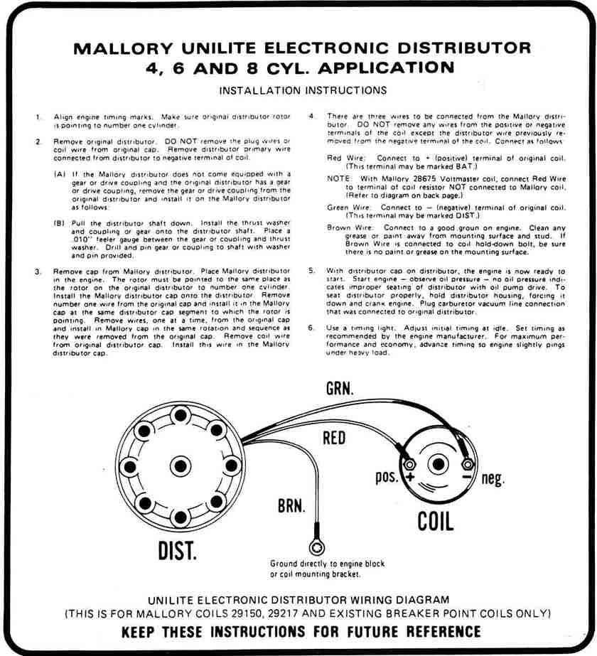 diagram] mallory unilite ignition wiring diagram.html full version hd  quality wiring diagram - bpmdiagrams.rockwebradio.it  diagram database