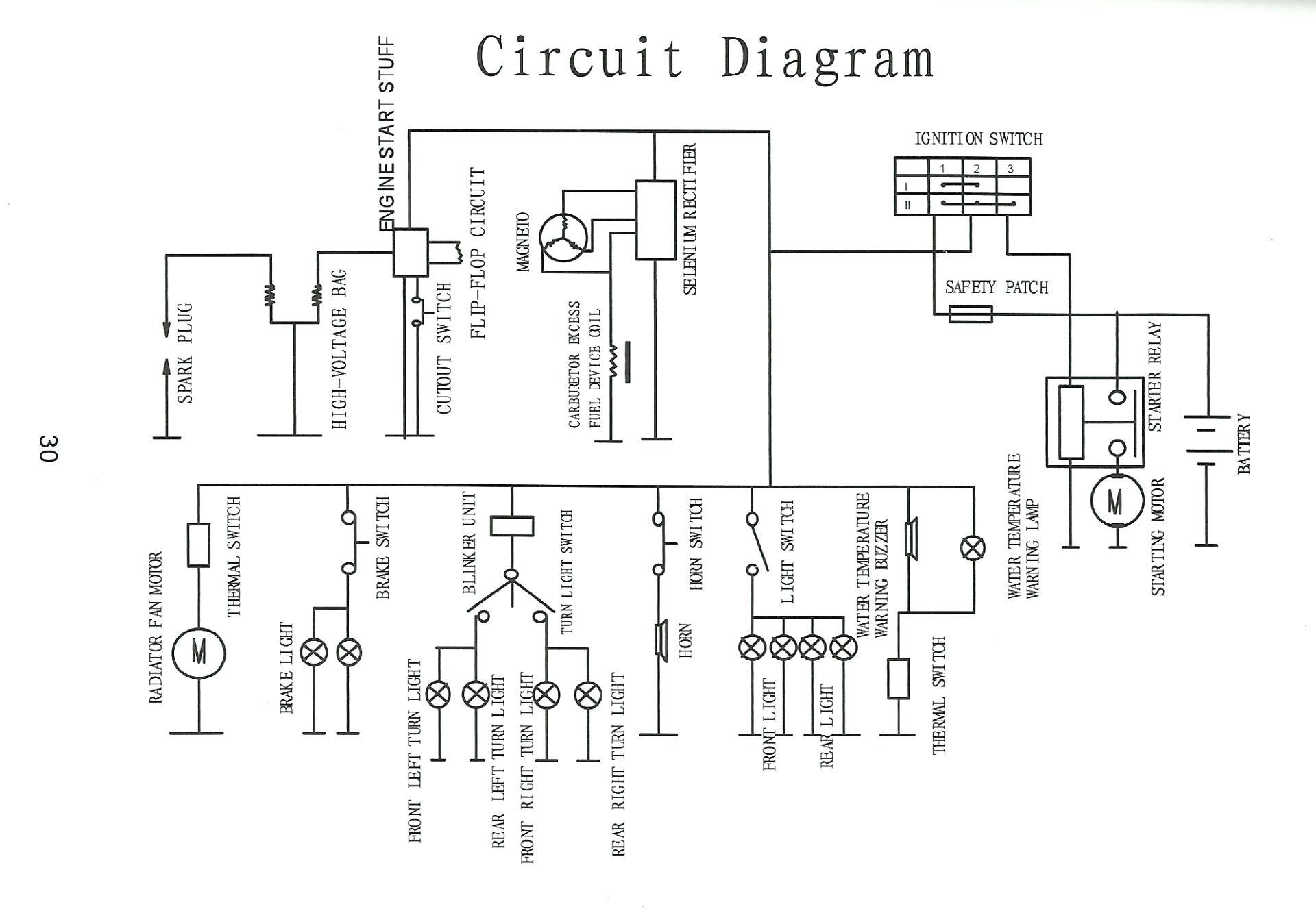 Manco Talon Atv Wiring Diagram