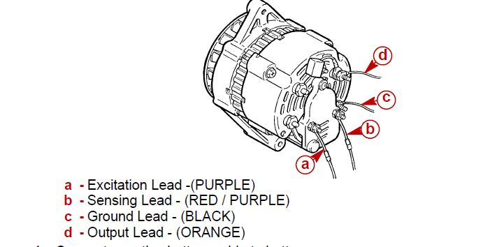 Marine Alternator Wiring Diagram M59819