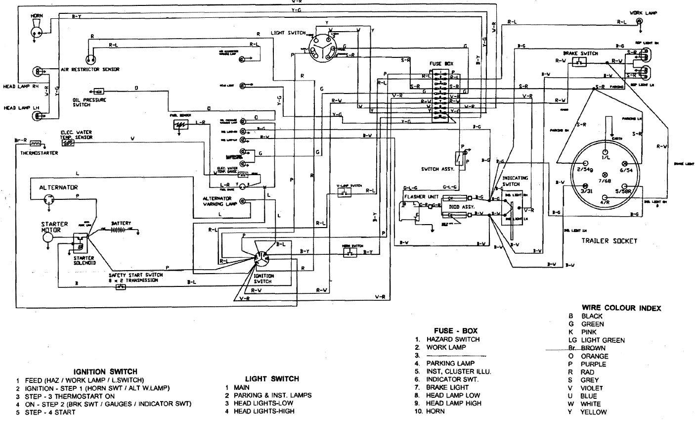 Massey Ferguson 231 Wiring Diagram