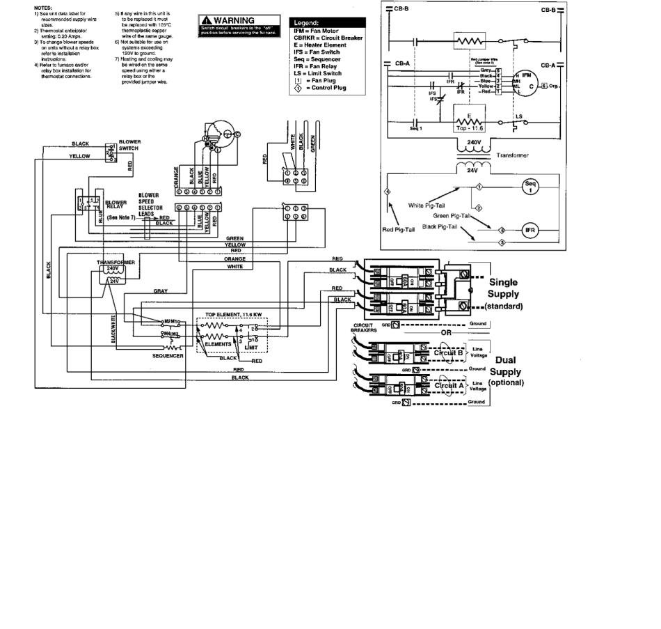 Modine Heater Parts Diagram