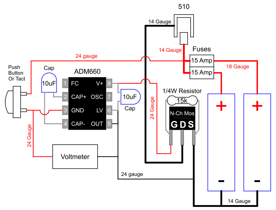 Mosfet Mod With Voltmeter Wiring Diagram