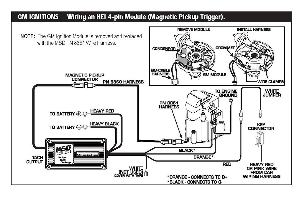 Sbc Hei Wiring Diagram from wiringall.com